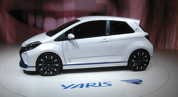 Yaris Hybrid-R profile