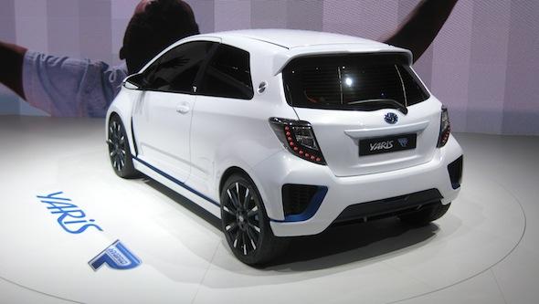 Yaris Hybrid-R rear
