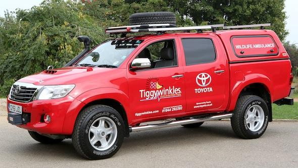 St Tiggywinkles Toyota Sponsorship - Buckinghamshire