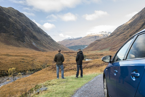 Scotland's top film locations: Auris at the Movies - Toyota