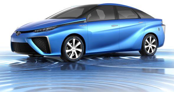 Toyota FCV Concept CGI