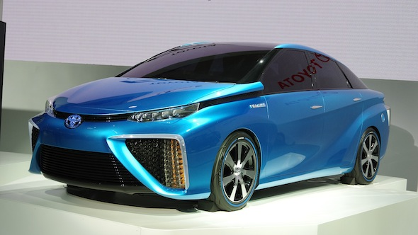Toyota FCV Concept at the 2013 Tokyo Motor Show