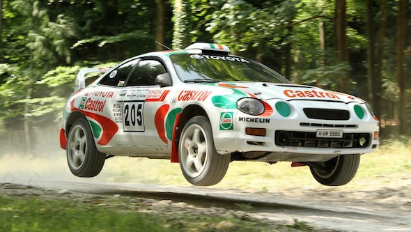 Celica rally car