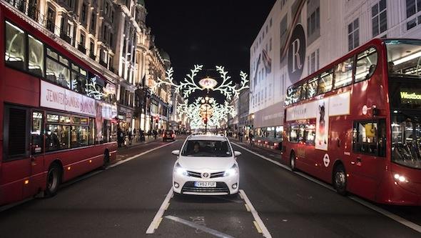 Toyota Verso Regent Street