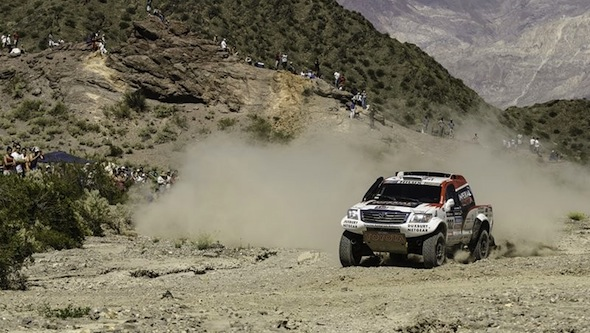 Dakar Hilux 2014