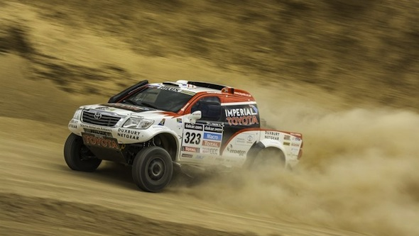 Toyota Hilux Begin 2014 Dakar Race Toyota Uk News