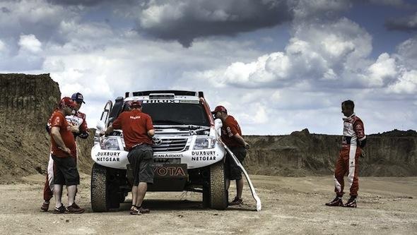Hilux Dakar 2014