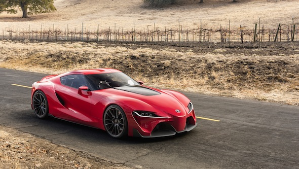 Toyota FT-1 static front