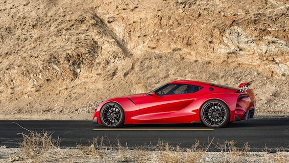 Toyota FT-1 side