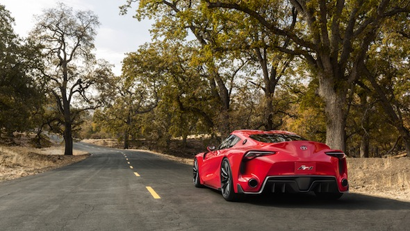 Toyota FT-1 rear static
