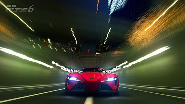 Toyota FT-1 concept in GT6