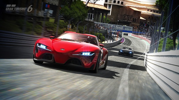 Toyota FT-1 in GT6