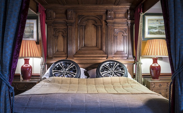 Toyota tyre hotel Bed