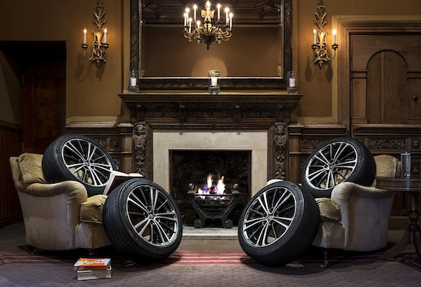 Toyota tyre hotel Fire