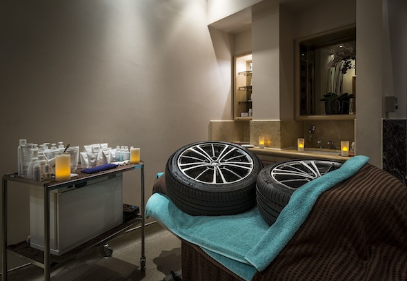 Toyota tyre hotel Spa