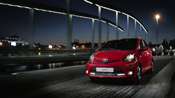 Toyota Aygo Mode