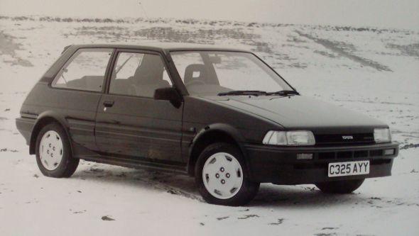 Toyota Corolla generations: 1983-87 - Toyota
