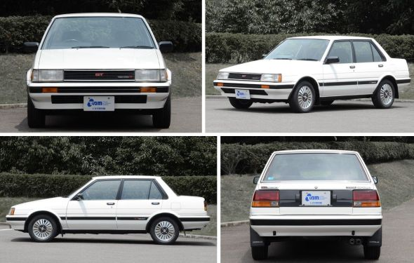 Fifth-gen Corolla four angles
