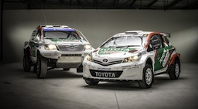 Rally Hilux and Yaris