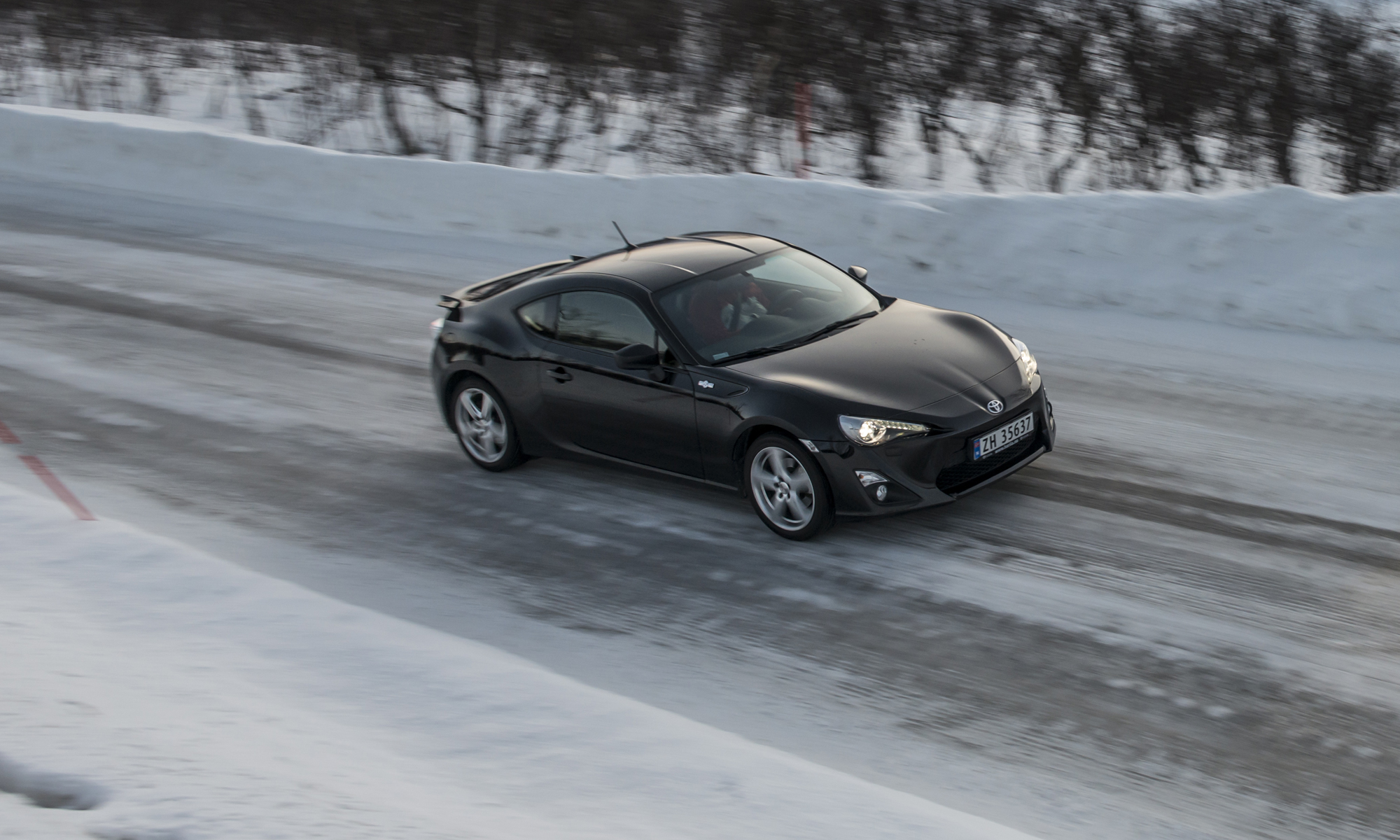Toyota GT86 action