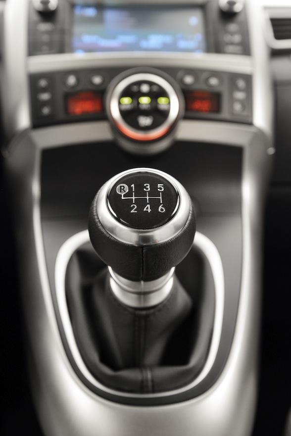 Toyota Verso gearstick