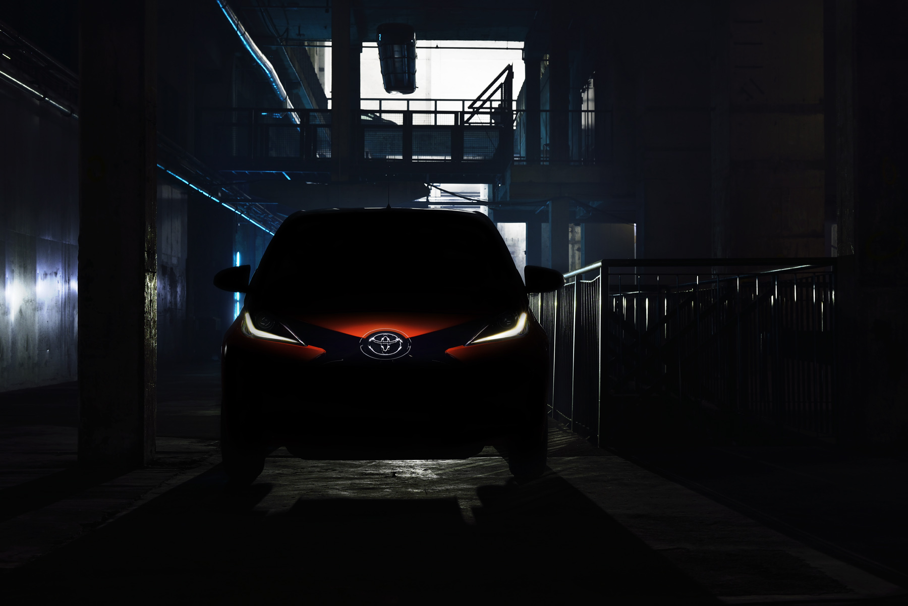 New Toyota Aygo first image