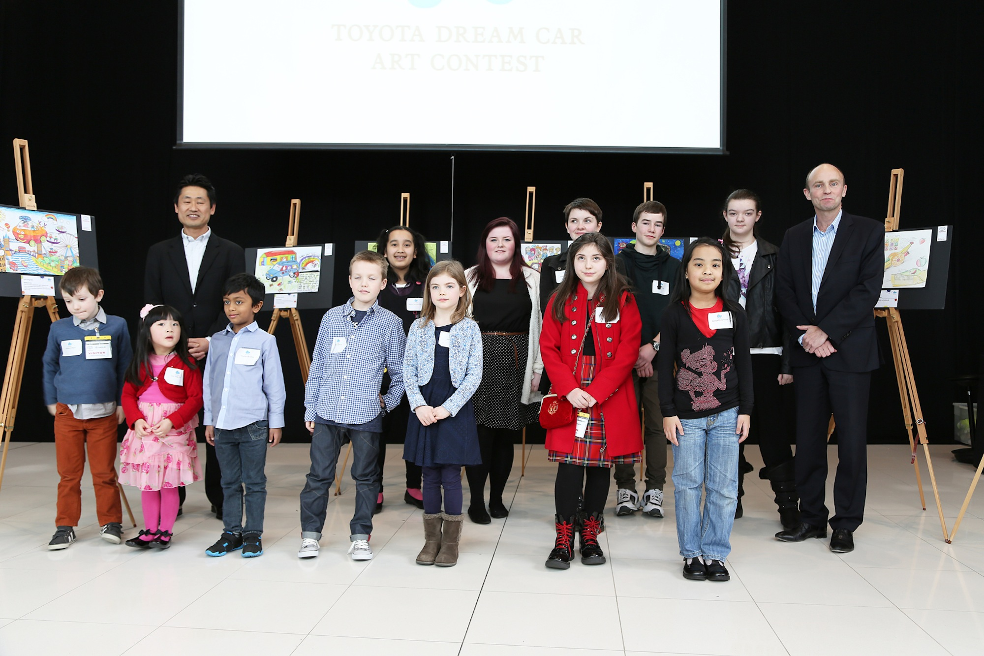 Toyota Dream Car Art Contest winners 2014