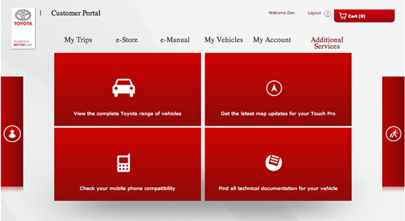 Toyota Touch & Go: How to register your Touch & Go system - Toyota