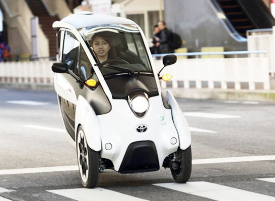 2013 Toyota i-Road mobility concept