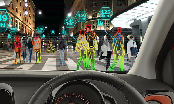 Toyota AYGO fun sensor
