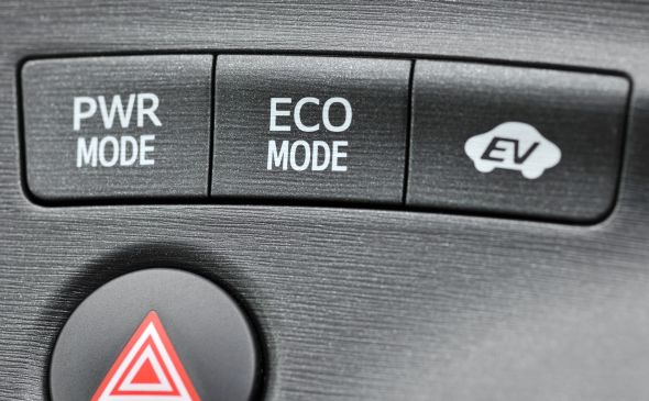 Prius dash