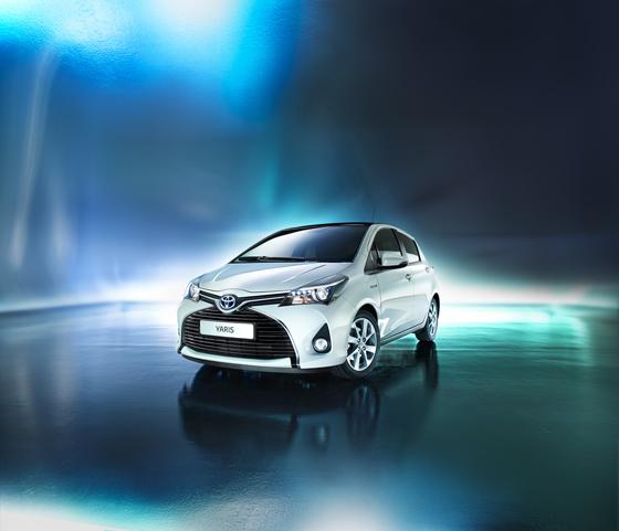 Updated Toyota Yaris