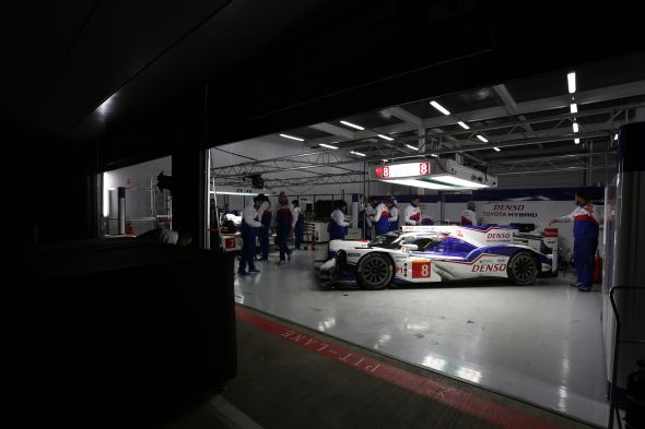 Toyota Racing at Silverstone