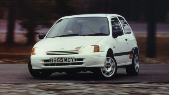 1999 Toyota Starlet SR