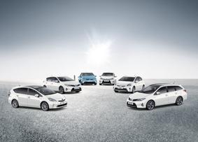 Toyota Hybrid range