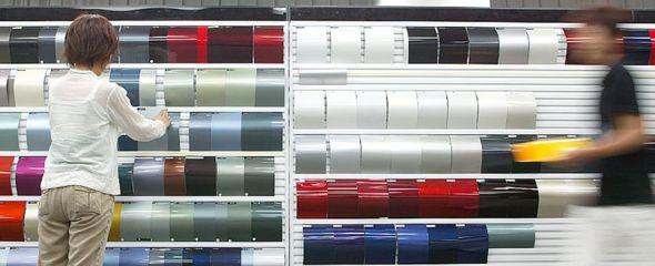 Design process - colour