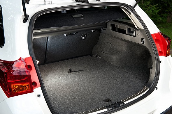 toyota aygo boot space dimensions