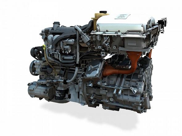 Hybrid drive 2nd gen Prius