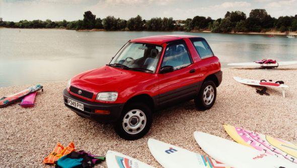 History of the Toyota RAV4