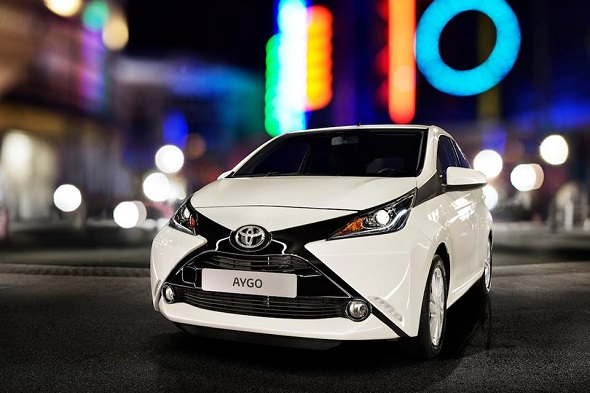 Aygo home page