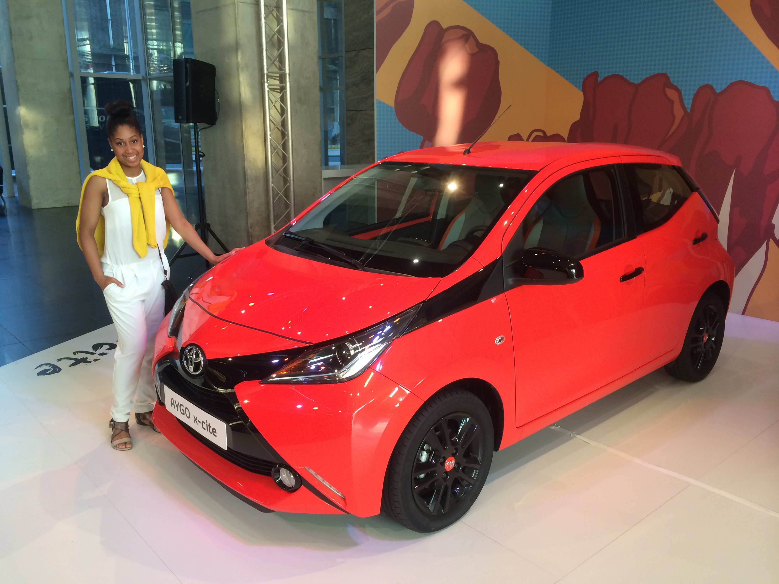 Aygo x-cite Stacey