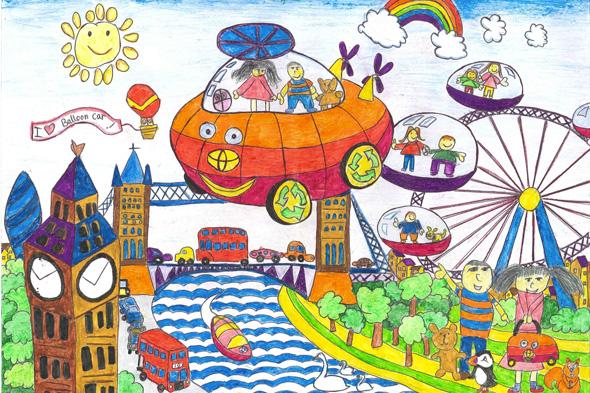 Luo-Tong Sim balloon car