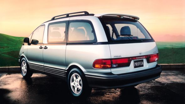 History Of The Toyota Previa Toyota