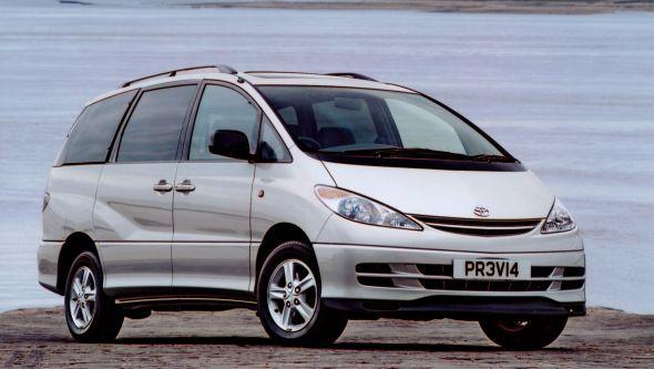 Toyota names of models Previa