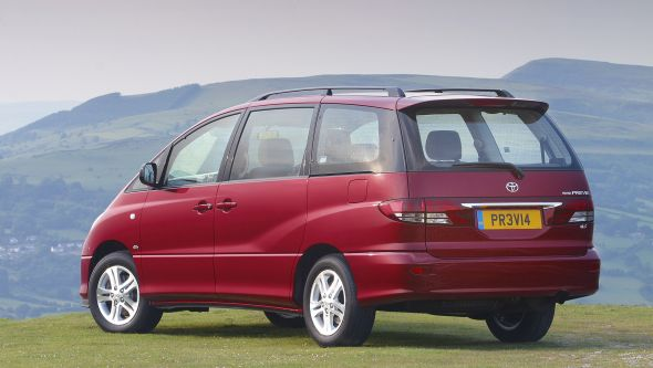History of the Toyota Previa 5
