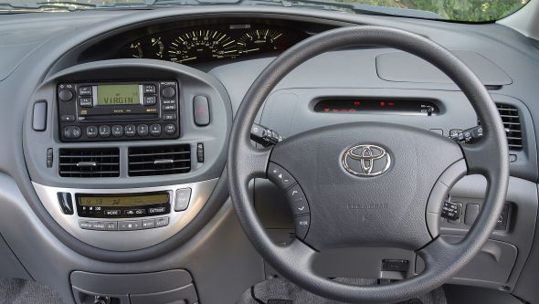 History of the Toyota Previa Interior