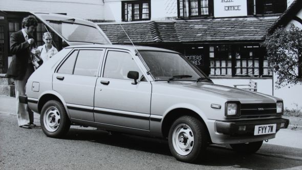 1980 Toyota Starlet 1.2 GL 5dr