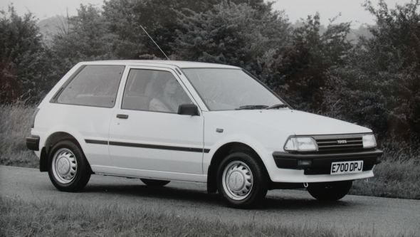 History of the Toyota Starlet - Toyota