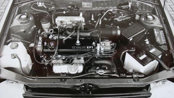 1993 Toyota Starlet 1.3 GLi engine
