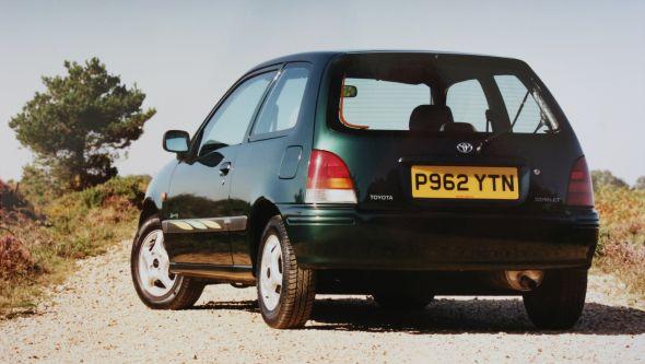 1996 Toyota Starlet Sportif rear